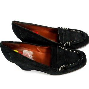 NW MICHAEL KORS Italy Loafers Wedge Platform Heels
